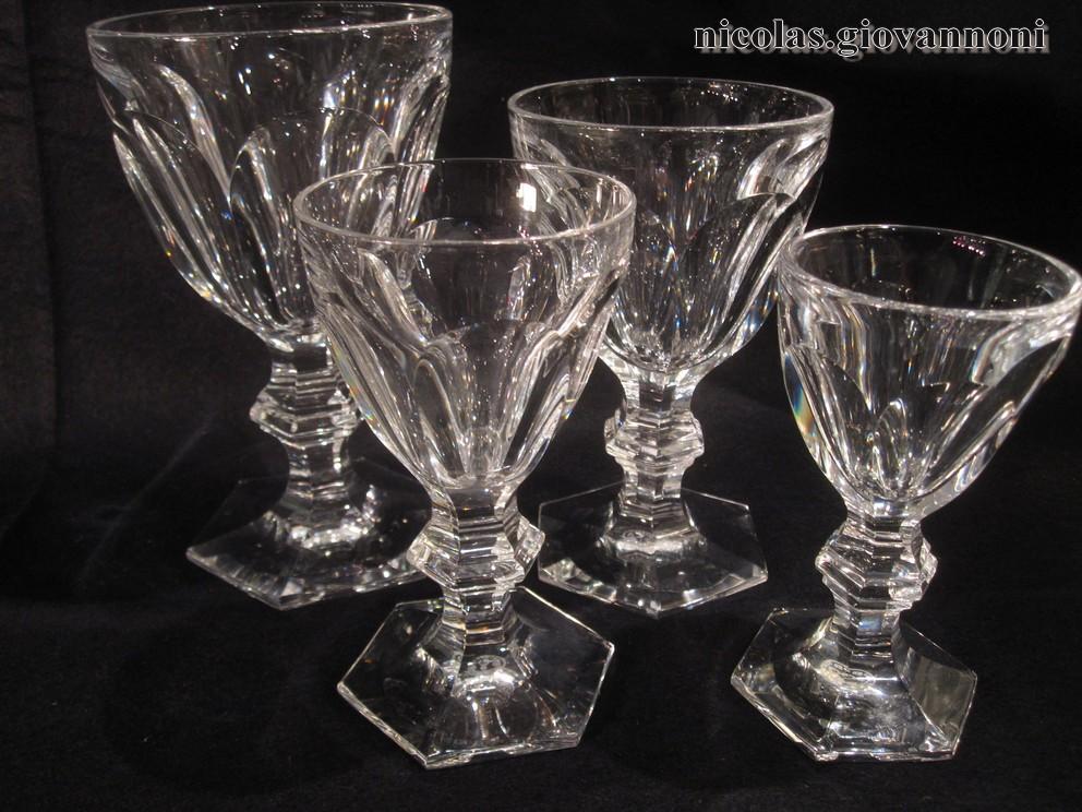 Service 45 pi ces harcourt baccarat cristal catalogue cristal de fr - Service harcourt baccarat ...