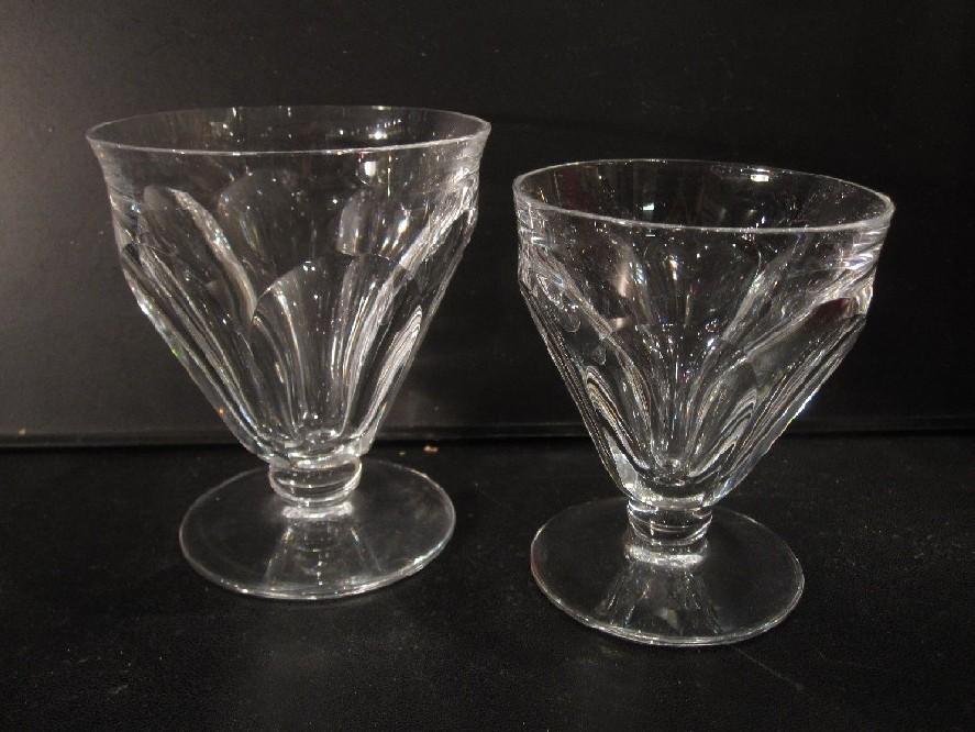 15 verres eau 14 bourgogne talleyrand baccarat cristal catalogue cristal de france. Black Bedroom Furniture Sets. Home Design Ideas